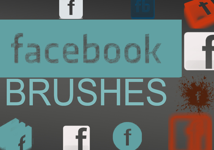 Facebook Logo Brush Pack