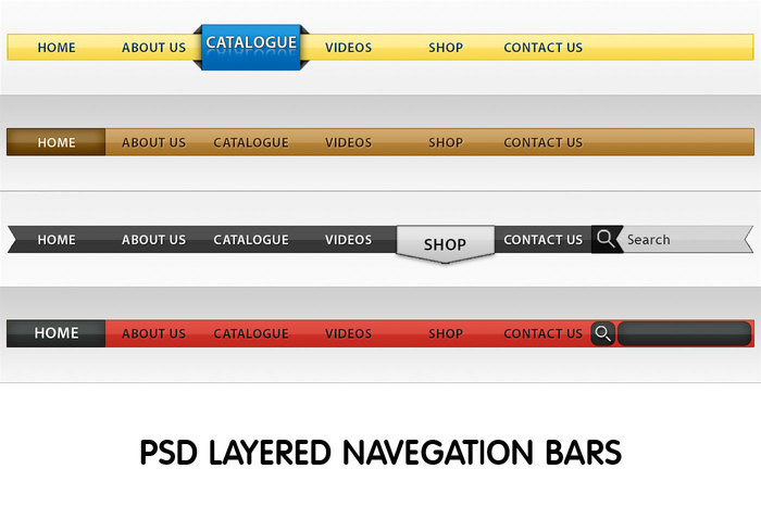 Contemporary Nav Bar