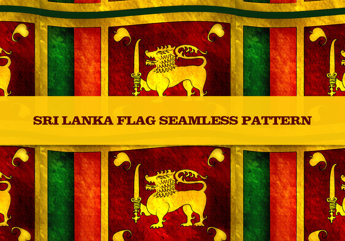 Flag Photoshop Pattern for Sri Lanka