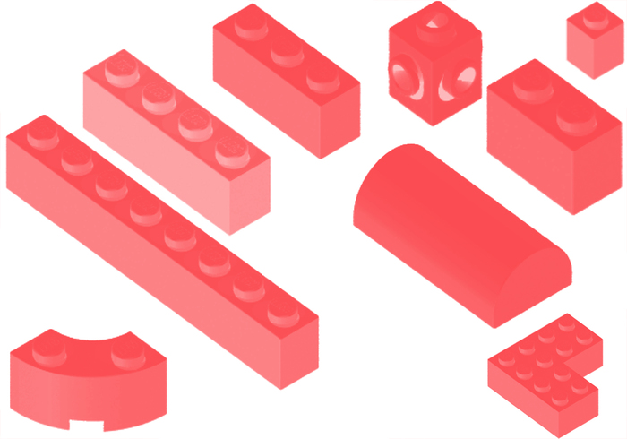 Lego Brick Brush Pack