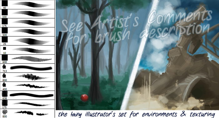 Paint Brush Pack