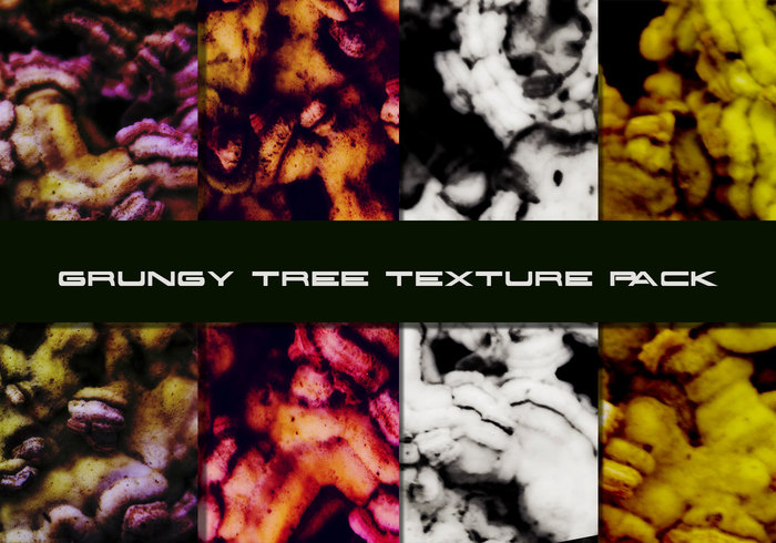 Grungy Tree Texture Pack