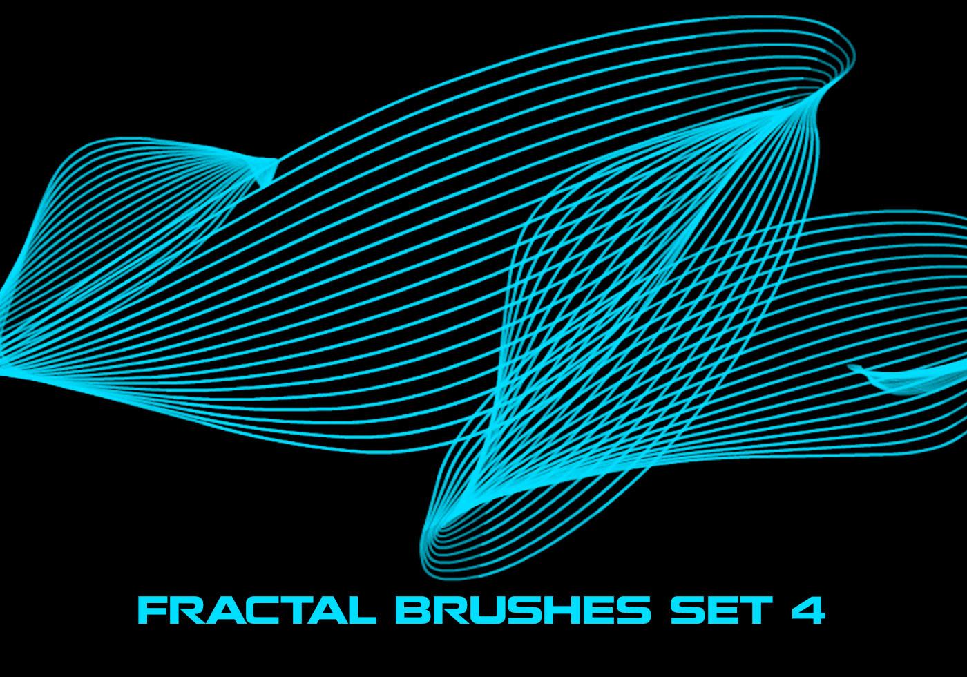 Fractal Paint Brushes