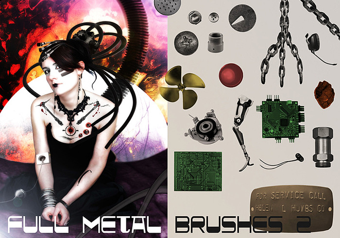 Full Metal Brush Pack Assemble 2