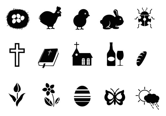 Ostern Symbol Brush Pack