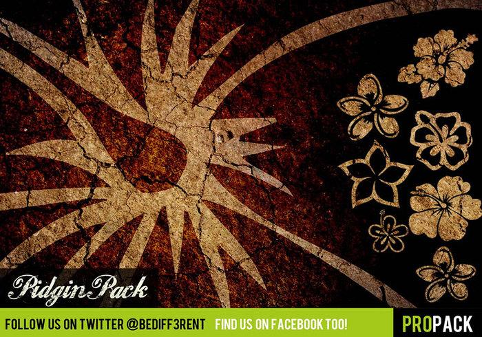 DBD | PidginPack - Hawaiian Style Brushes