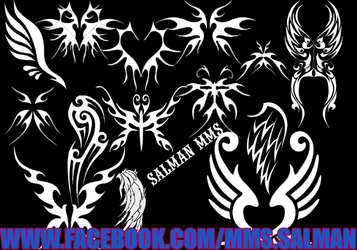 Drogan Wings Tattoo Brush Pack