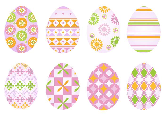 Funky Easter Egg Brush och PSD Pack
