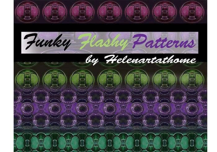 Padrões Flashy Funky