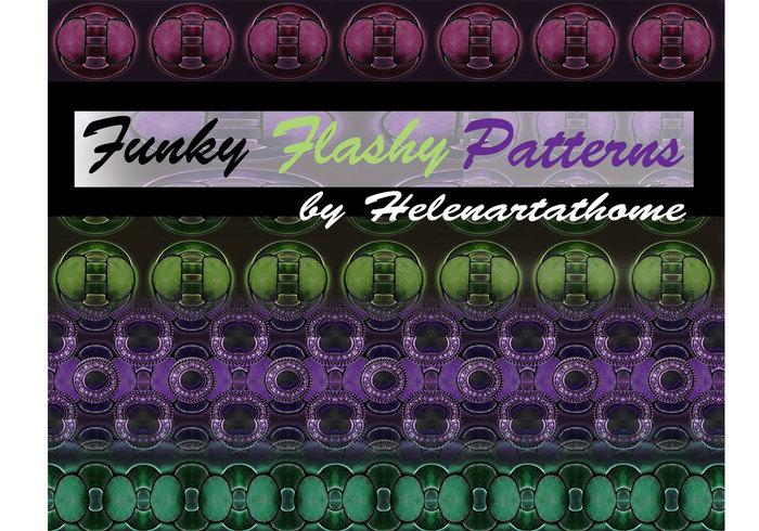 Funky prickiga mönster