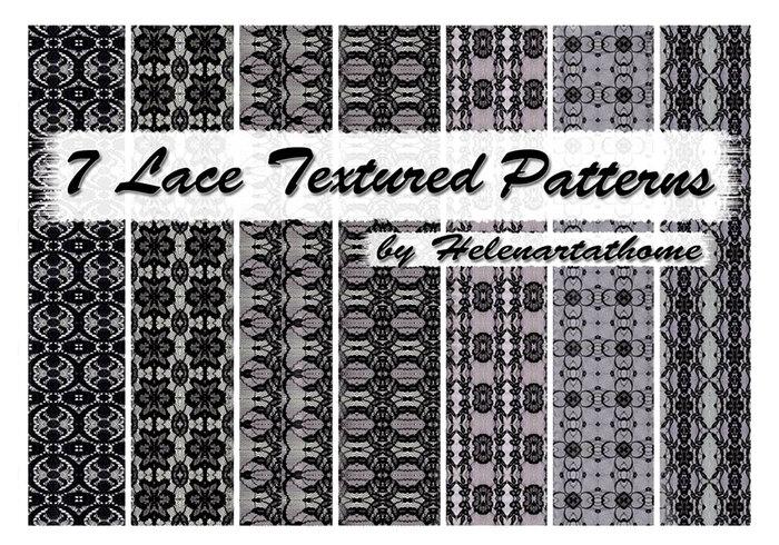Padrões Texturizados em Lace1