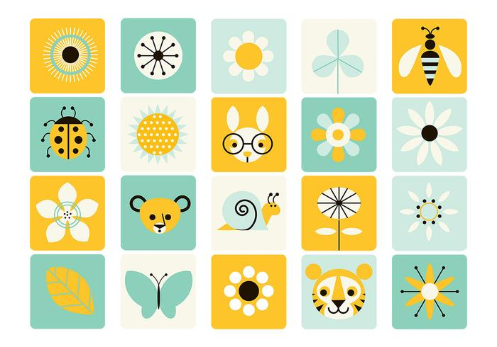 Spring Icon Brush Pack