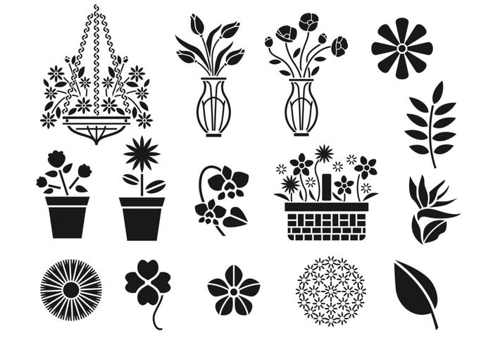 Spring Floral Brush Pack