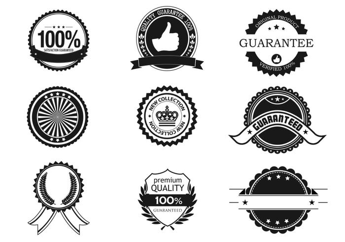 Business Badge and Label Brush Pack