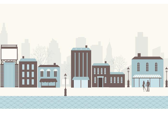 City Brush en PSD Pack