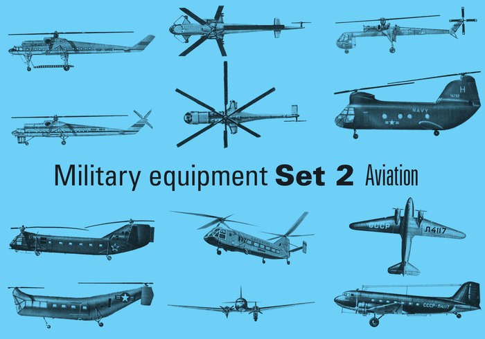 Equipamentos militares Set 2 - Aviation