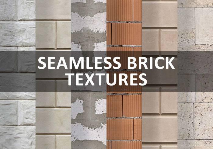 Seamless Modern Brick Textures Free Photoshop Brushes At