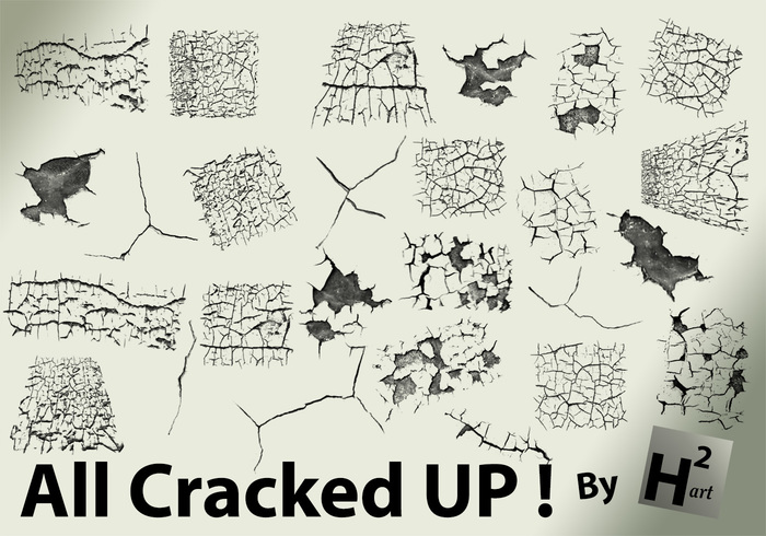 Cracked Brush Pack 2