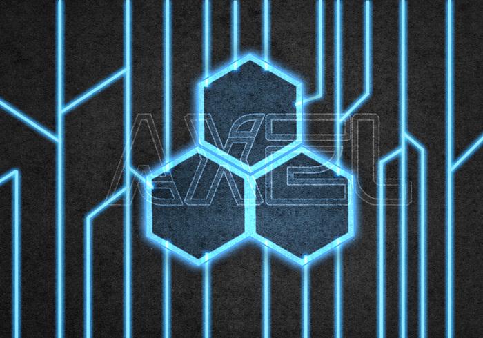 Neon Digital Circuit Technology PSD