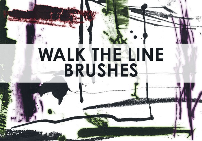 Ensemble Walk the Line Brush