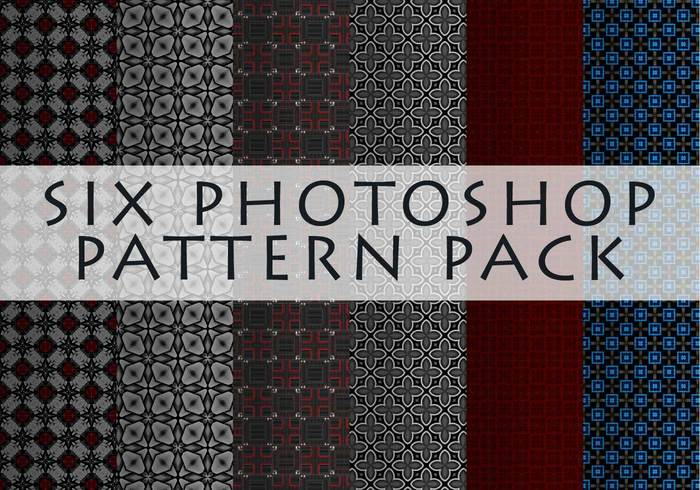 Six Random Photoshop Patterns
