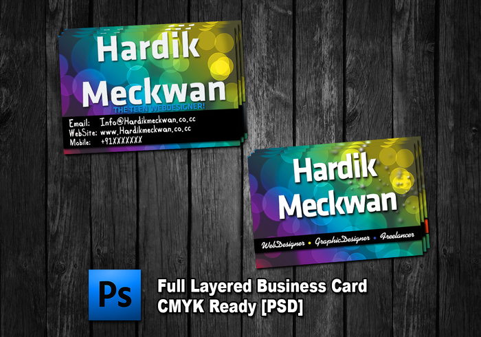 Creative Business Card PSD