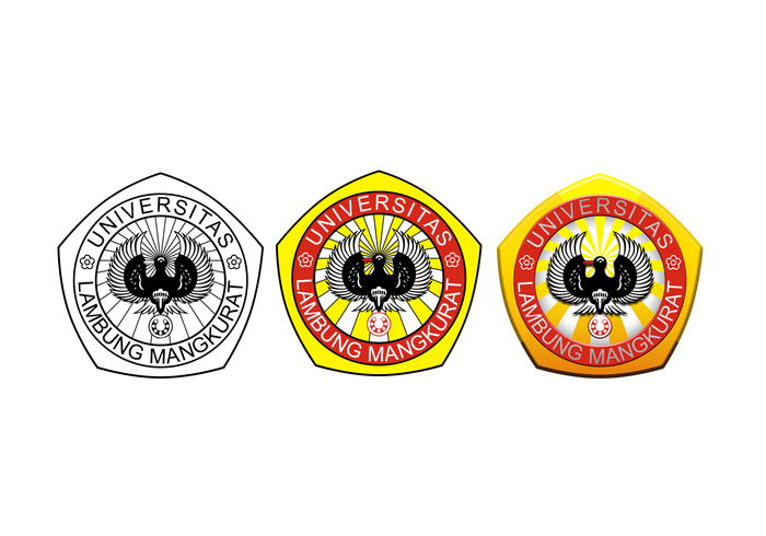 Lambung Mangkurat University's Logo in Vector Version