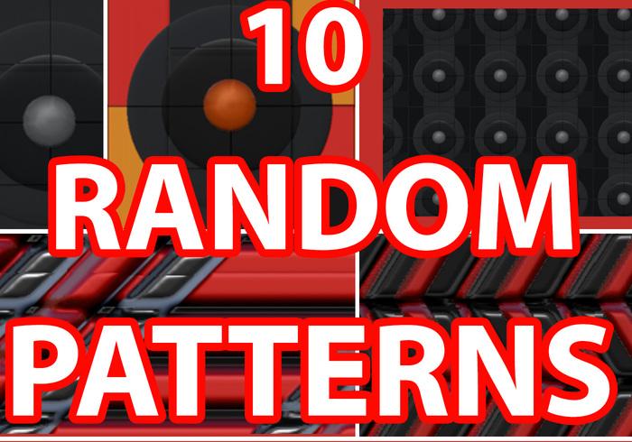 10 Random Gel-ish Patterns