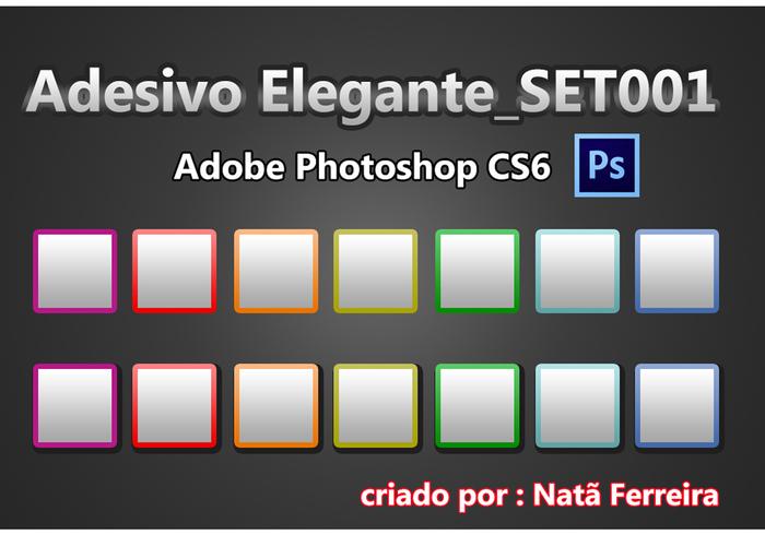 Adhesivo Elegante_SET001