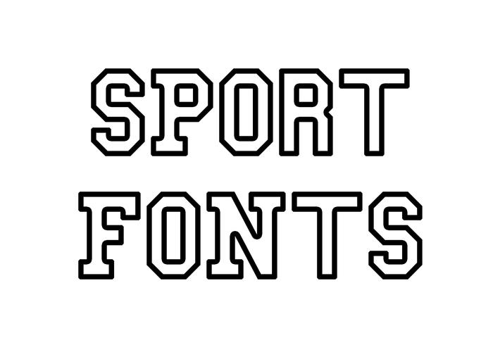 Sport Fonts