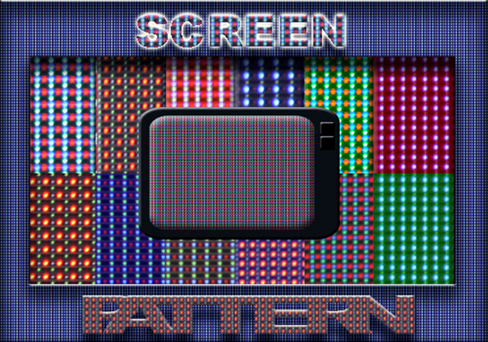 16 Screen Patterns