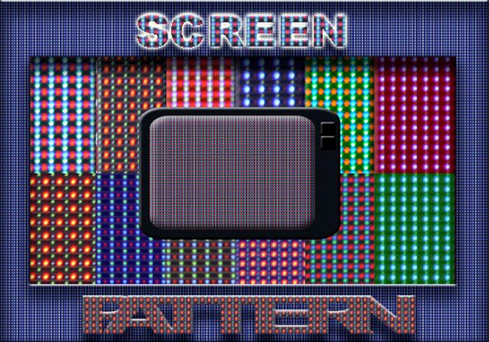 16 Bildschirmmuster
