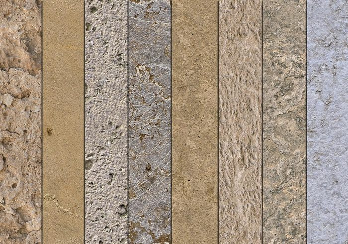 10 Seamless Mixed Stone Textures - Free Photoshop Brushes At