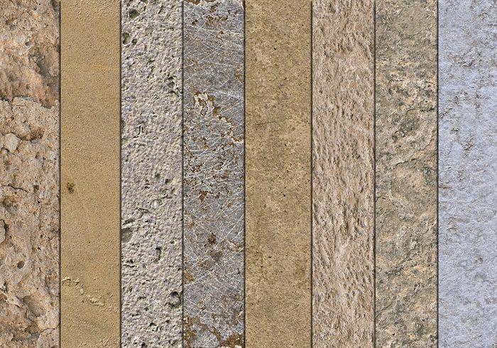 10 Seamless Mixed Stone Textures Free Photoshop Brushes