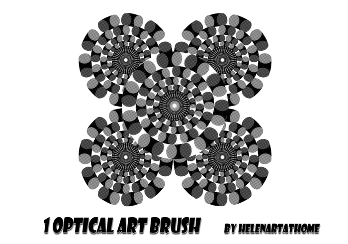 Optical Art Brush
