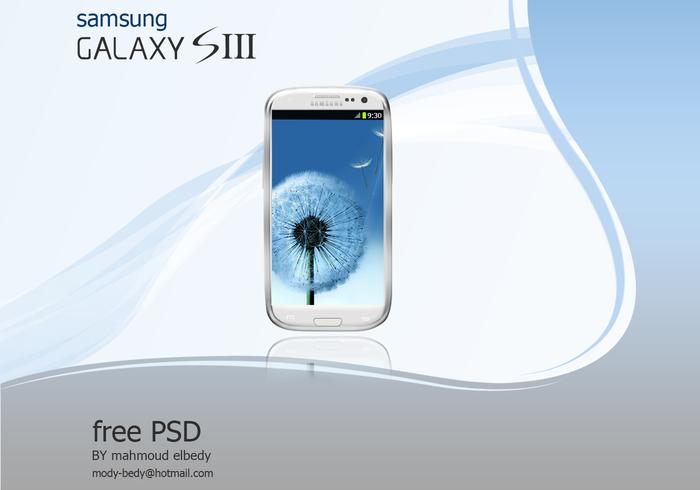 Samsung Phone PSD