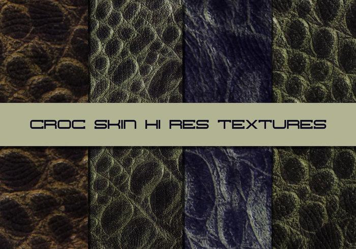 Croc Textures