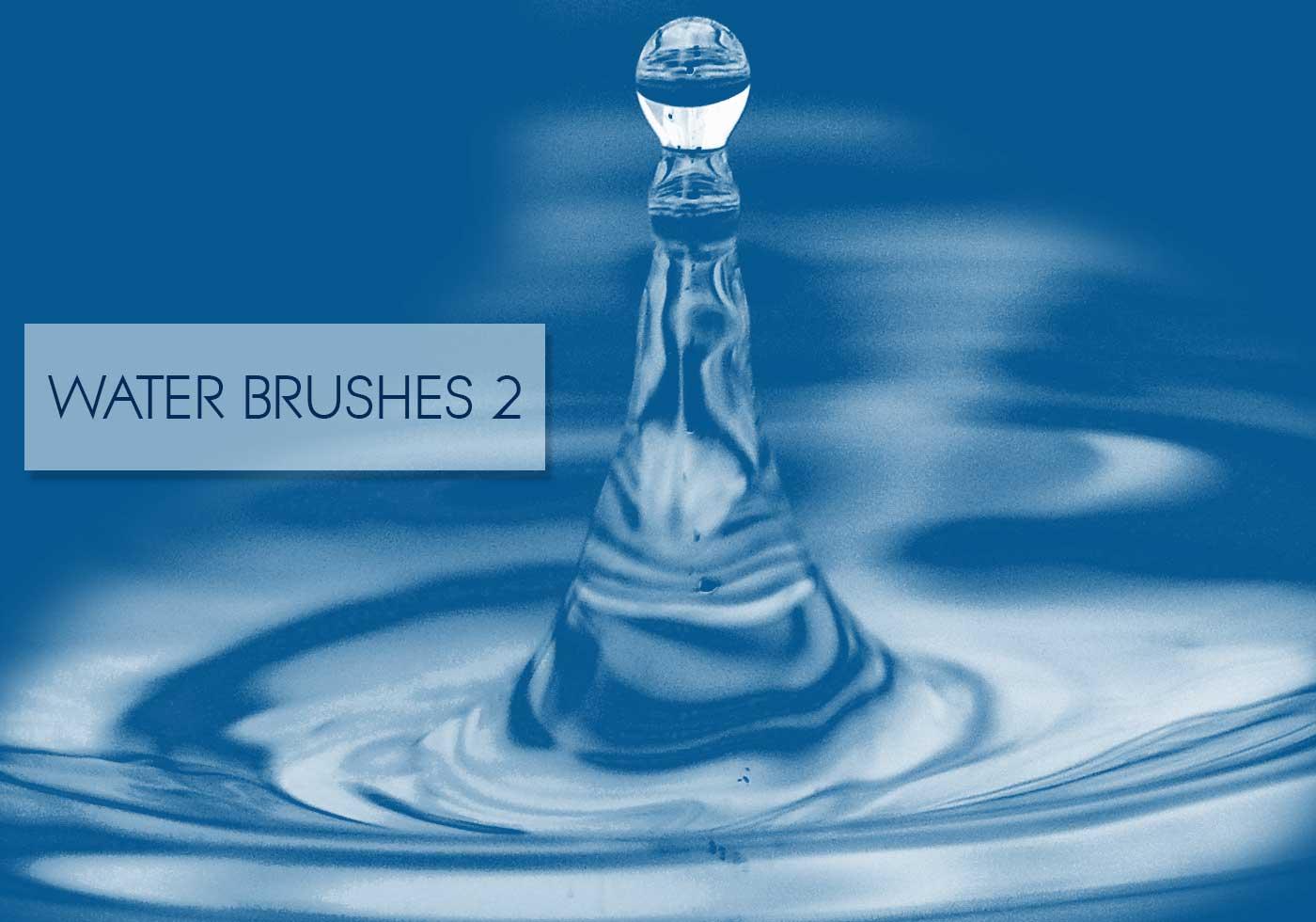 Water Brushes Vol. 2 - Free Photoshop Brushes at Brusheezy!
