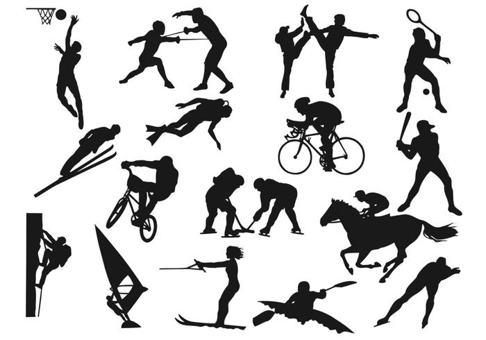 Sports Silhouette Brush Pack