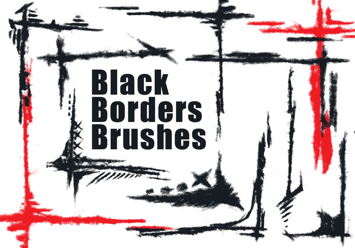 Black Borders brushes