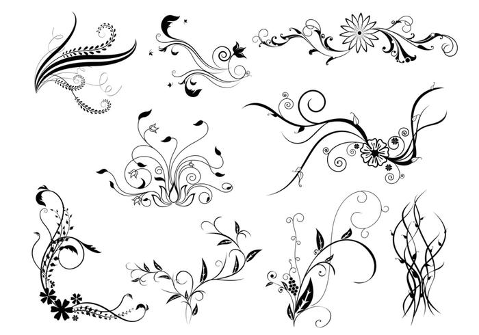 Natural Flourish Brush Pack