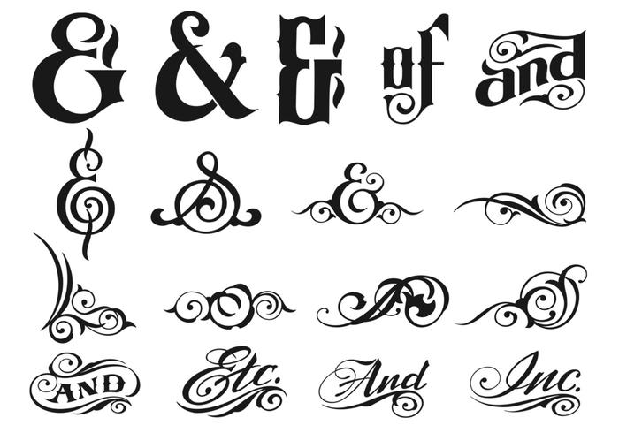 Ampersand Brush Pack