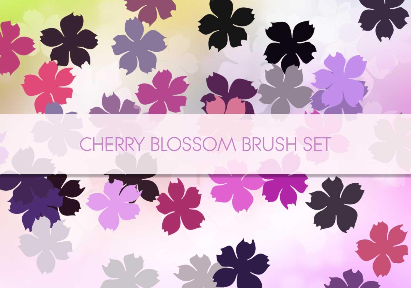 Cherry Blossom 1 Free Photoshop Brushes At Brusheezy