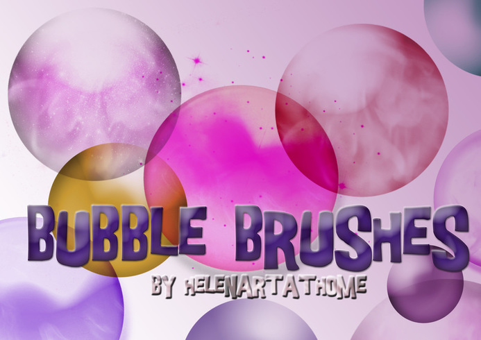 Bubble Brushes