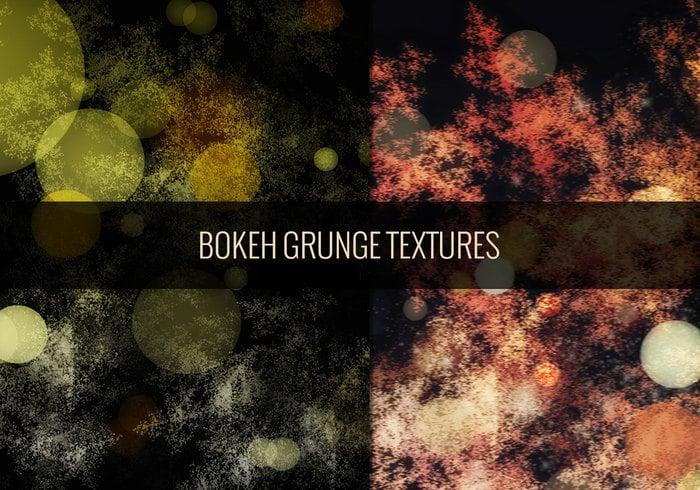 Grungy Bokeh inspirierte Texturen