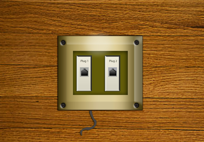 Office Use Phone Wall Plugs