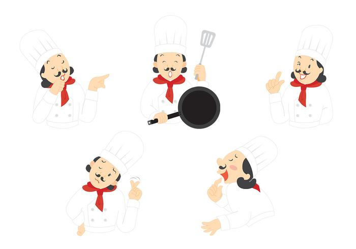 The Expressive Chef PSD e PNG Pack