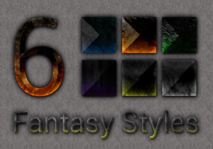 6 Fantasy Stone Styles