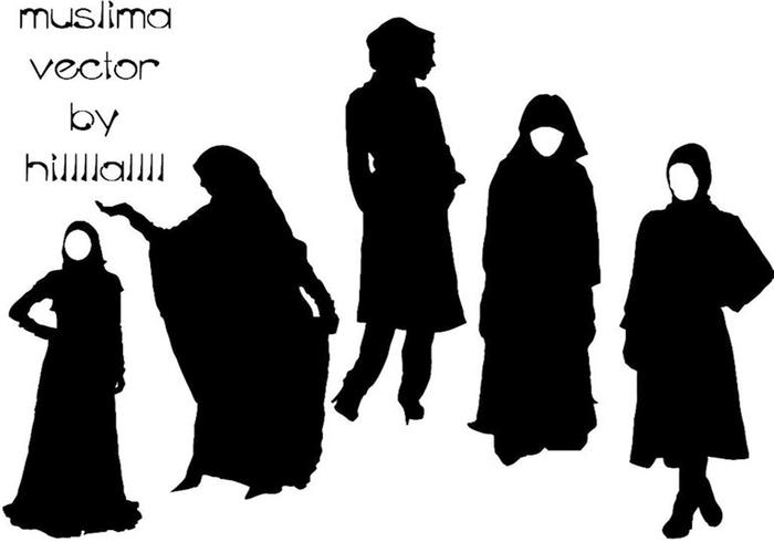 Female Muslima Vector