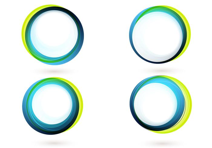 Colorful Circle Banner Wallpaper Pack